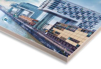 Architektur Foto auf KAPA Platte