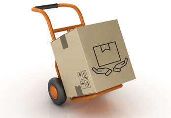 sichere Transportverpackung