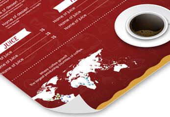 Ein Plakatdruck auf schwerem Posterpapier