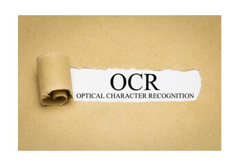 Eine grafische Darstellung für die OCR-Texterkennung