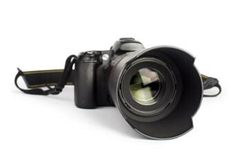 Eine Spiegelreflexkamera